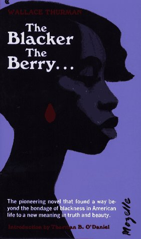Blacker the Berry Reprint 9780020547501 Front Cover