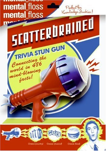 Mental Floss: Scatterbrained   2006 9780060882501 Front Cover
