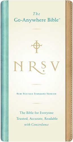 NRSV Go-Anywhere Bible with the Apocrypha  N/A 9780061236501 Front Cover