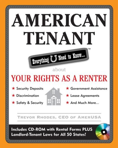 American Tenant Everything U Need to Know about Your Rights as a Renter  2009 9780071590501 Front Cover