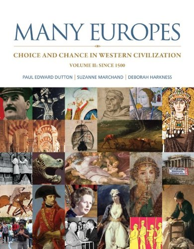 Many Europes Choice and Chance in Western Civilization since 1500  2014 edition cover
