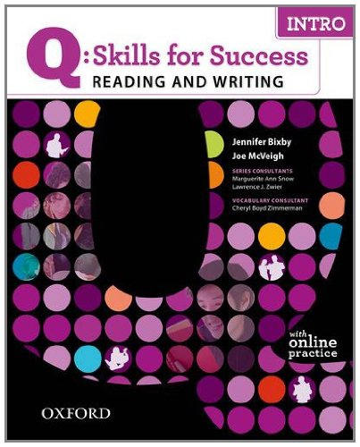 Q-Skills for Success - Reading and Writing With Online Practice Student Manual, Study Guide, etc. edition cover