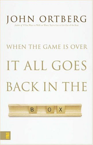 When the Game Is over, It All Goes Back in the Box   2007 edition cover