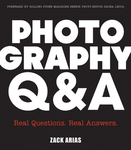Photography Q and A Real Questions, Real Answers  2013 edition cover