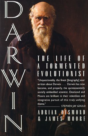 Darwin The Life of a Tormented Evolutionist  1994 9780393311501 Front Cover
