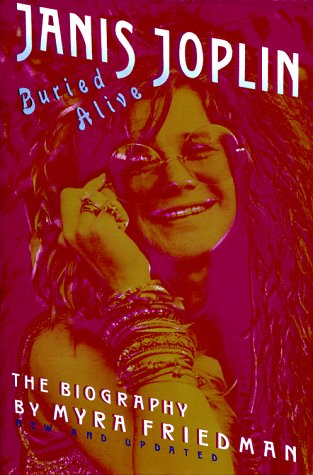 Buried Alive The Biography of Janis Joplin Revised  edition cover