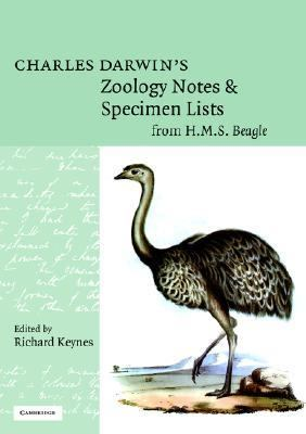 Charles Darwin's Zoology Notes and Specimen Lists from H. M. S. Beagle  N/A 9780521673501 Front Cover