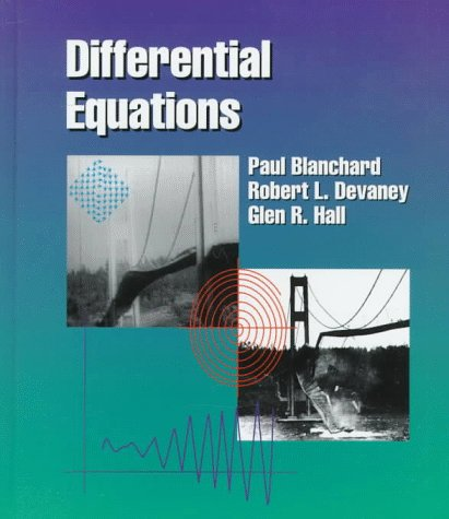 Differential Equations  1st 1998 edition cover