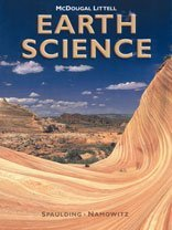 Earth Science  Student Manual, Study Guide, etc.  9780618115501 Front Cover