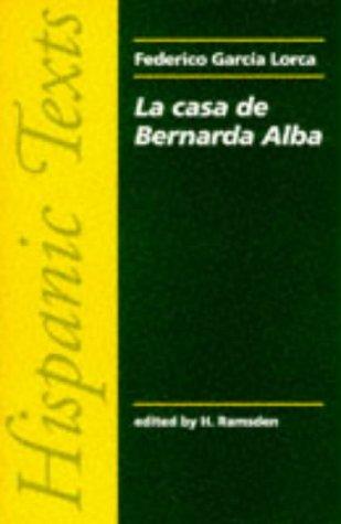 Casa de Bernarda Alba   1984 edition cover