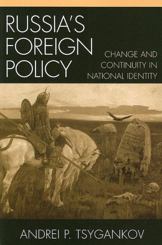 Russia's Foreign Policy Change and Continuity in National Identity  2006 9780742526501 Front Cover