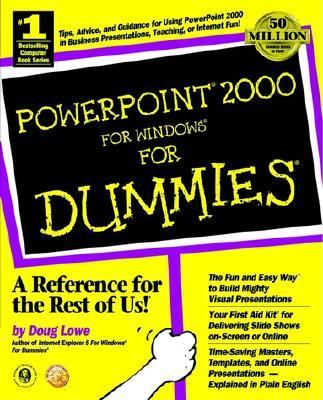 PowerPoint 2000 for Windows for Dummies�   1999 9780764504501 Front Cover