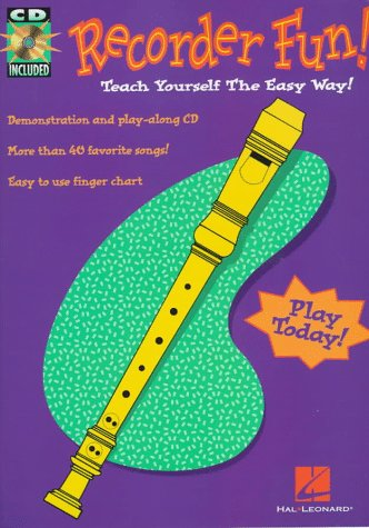 Recorder Fun! Teach Yourself the Easy Way! N/A edition cover