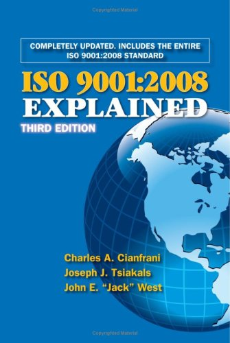 ISO 9001 2008 Explained 3rd 2009 edition cover