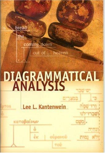 Diagrammatical Analysis N/A edition cover