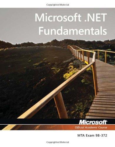 Microsoft .NET Fundamentals   2013 edition cover