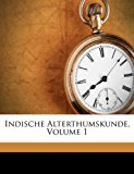 Indische Alterthumskunde  N/A edition cover