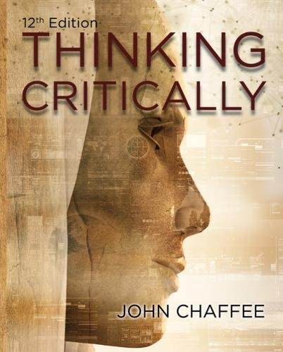 Thinking Critically:   2018 9781337558501 Front Cover
