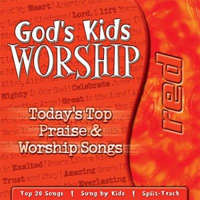 God's Kids Worship Red  2002 (Unabridged) 9781400300501 Front Cover