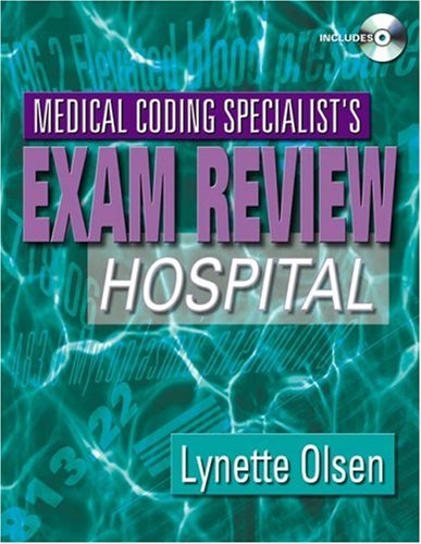 Medical Coding Specialist's Exam Review Hospital  2006 9781401837501 Front Cover
