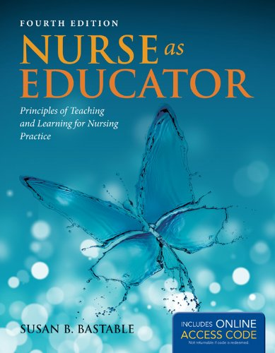 Nurse As Educator  4th 2014 9781449697501 Front Cover