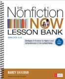 Nonfiction Now Lesson Bank, Grades 4-8 Strategies and Routines for Higher-Level Comprehension in the Content Areas  2014 edition cover