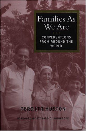 Families As We Are Conversations from Around the World  2001 edition cover
