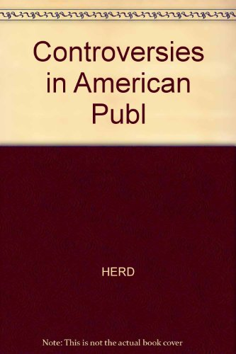 Controversies in American Public Policy  2nd 1999 9781572597501 Front Cover