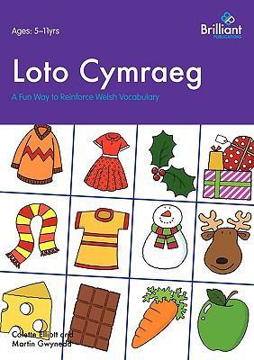 Loto Cymraeg: A Fun Way to Reinforce Welsh Vocabulary  2009 edition cover