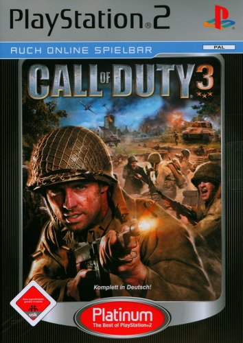 Call of Duty 3 (Platinum) PlayStation2 artwork