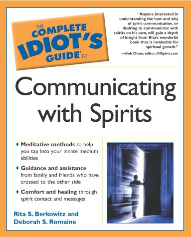 Complete Idiot's Guide to Communicating with Spirits   2003 edition cover