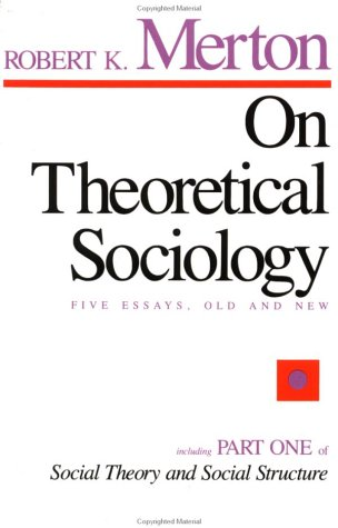 On Theoretical Sociology  624th 1967 edition cover