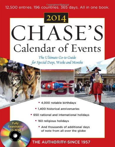 Chase's Calendar of Events 2014  57th 2014 9780071829502 Front Cover