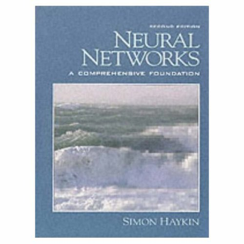 Neural Networks A Comprehensive Foundation 2nd 1999 (Revised) edition cover
