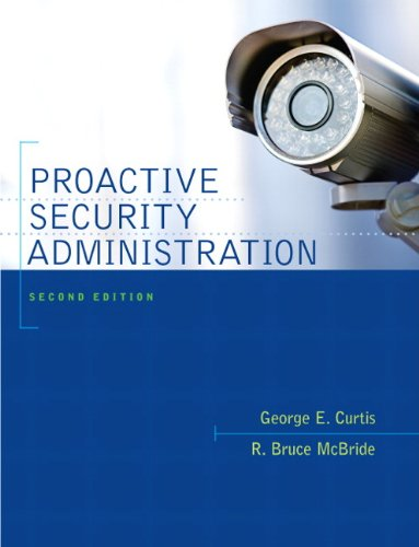 Proactive Security Administration  2nd 2011 (Revised) edition cover