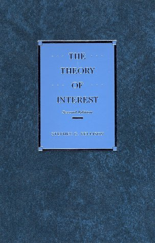 Theory of Interest  2nd 1991 (Revised) edition cover
