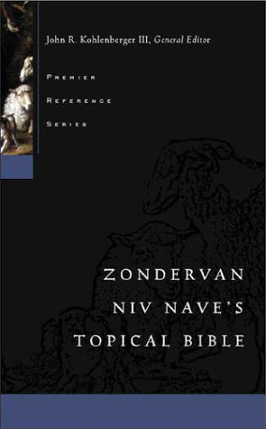 Topical Bible   1992 edition cover