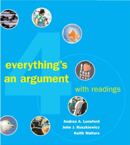 Everything's an Argument with Readings  4th 2007 edition cover