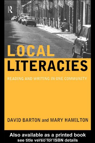 Local Literacies Reading and Writing in One Community  1998 edition cover