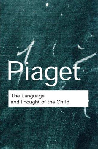 Language and Thought of the Child  2nd 2001 edition cover