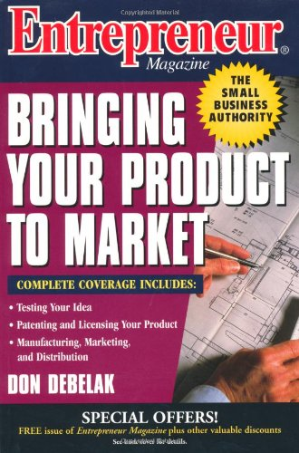 Entrepreneur Magazine Bringing Your Product to Market  1997 edition cover