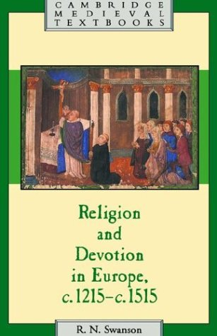 Religion and Devotion in Europe, C. 1215- C. 1515   1995 edition cover