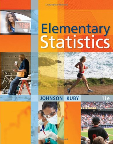 Elementary Statistics  11th 2012 edition cover