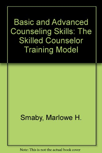 DVD for Smaby/Maddus' Basic and Avanced Counseling Skills: Skilled Counselor Training Model   2011 9780547007502 Front Cover