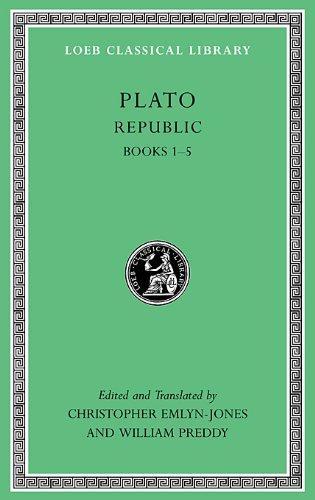 Republic, Volume I Books 1-5  2013 edition cover