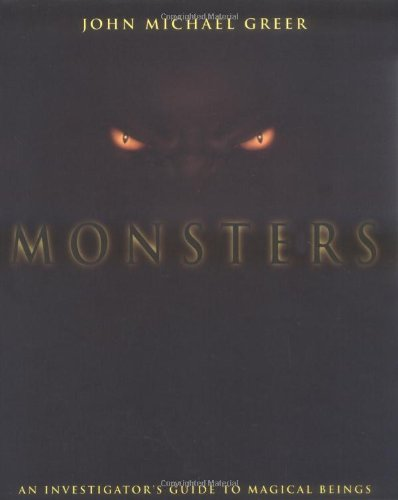 Monsters An Investigator's Guide to Magical Beings  2001 edition cover