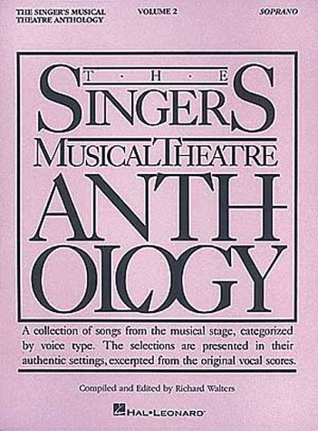Singer's Musical Theatre Anthology Soprano Revised edition cover