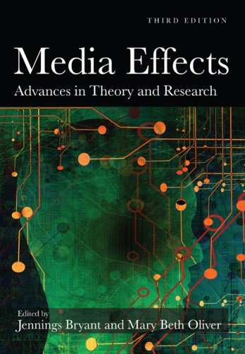Media Effects Advances in Theory and Research 3rd 2009 (Revised) edition cover