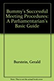 Bummy's Basic Parliamentary Guide An Illustrated Step-by-Step Procedure for Making Meetings Work  2001 9780915035502 Front Cover