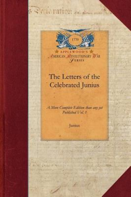 Letters of the Celebrated Junius  N/A 9781429014502 Front Cover